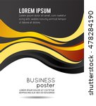 professional business design... | Shutterstock .eps vector #478284190