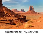 Monument Valley's North Window...