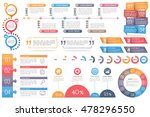 infographic elements circle... | Shutterstock .eps vector #478296550