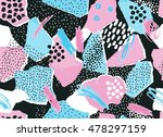abstract torn paper and... | Shutterstock .eps vector #478297159