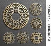 islamic ornament vector  ... | Shutterstock .eps vector #478298530