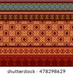seamless elegant ornamental... | Shutterstock .eps vector #478298629
