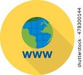 world wide web   Shutterstock .eps vector #478300144