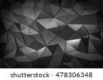 metal triangle mosaic... | Shutterstock . vector #478306348