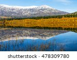 lake in autumn mountain in the... | Shutterstock . vector #478309780