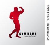 gym logo. fitness energy logo.