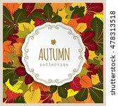 vector autumn background ... | Shutterstock .eps vector #478313518