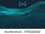 data visualisation background . ... | Shutterstock .eps vector #478326820