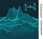 data visualization background . ... | Shutterstock .eps vector #478326916