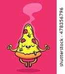 funny cartoon character. cute... | Shutterstock .eps vector #478356796
