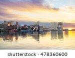 view of inner harbor area in... | Shutterstock . vector #478360600
