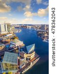 view of inner harbor area in... | Shutterstock . vector #478362043