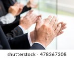 business people  clapping their ... | Shutterstock . vector #478367308