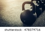 workout with kettlebells | Shutterstock . vector #478379716