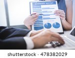 business adviser analyzing... | Shutterstock . vector #478382029