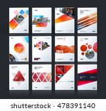 brochure template layout  cover ... | Shutterstock .eps vector #478391140