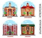 school and university  academy... | Shutterstock .eps vector #478392334