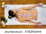 herbal ball massage in ayurveda ... | Shutterstock . vector #478396444