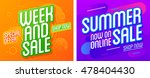 sale website banner template.... | Shutterstock .eps vector #478404430