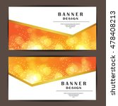 card and banner design with... | Shutterstock .eps vector #478408213