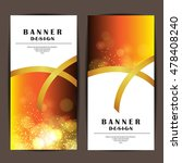 card and banner design with... | Shutterstock .eps vector #478408240