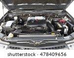 Car engine ,car engine background - stock photo