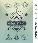 universal different geometric... | Shutterstock .eps vector #478410010