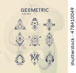 trendy symbols set. linear... | Shutterstock .eps vector #478410049