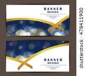 card and banner design with... | Shutterstock .eps vector #478411900