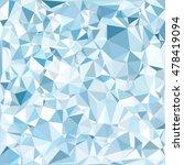 blue polygonal mosaic... | Shutterstock .eps vector #478419094