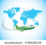 travel is the movement of... | Shutterstock .eps vector #478428154