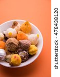 Small photo of Indian Variety of sweet modak usually offered as prasad to lord ganesh in ganesh festival