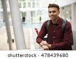 young adult male student in... | Shutterstock . vector #478439680