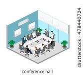 business meeting in an office... | Shutterstock .eps vector #478440724