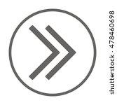 arrow  icon. flat design. | Shutterstock .eps vector #478460698