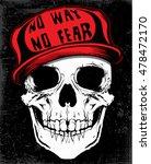 skull t shirt graphic design | Shutterstock . vector #478472170