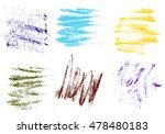 vector crayons hand drawing...   Shutterstock .eps vector #478480183