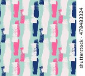 summer modern chevron print in... | Shutterstock .eps vector #478483324