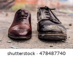 conceptual shooting of shoes.... | Shutterstock . vector #478487740
