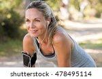 portrait of athletic mature... | Shutterstock . vector #478495114