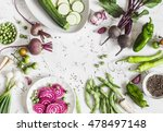 Fresh Raw Vegetables   Beets ...