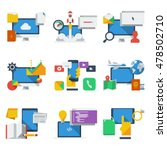 technology icons | Shutterstock .eps vector #478502710