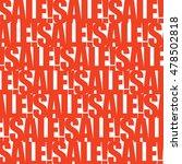 red white sale banner template... | Shutterstock .eps vector #478502818