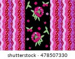 Cute Endless Pattern With...