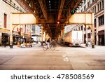 street in chicago. | Shutterstock . vector #478508569