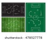 football or soccer game... | Shutterstock .eps vector #478527778