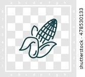 web line icon. corn | Shutterstock .eps vector #478530133