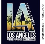 los angeles  california... | Shutterstock .eps vector #478533970