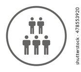 people  icon vector. flat... | Shutterstock .eps vector #478553920
