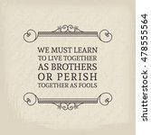 vintage headline calligraphic... | Shutterstock .eps vector #478555564